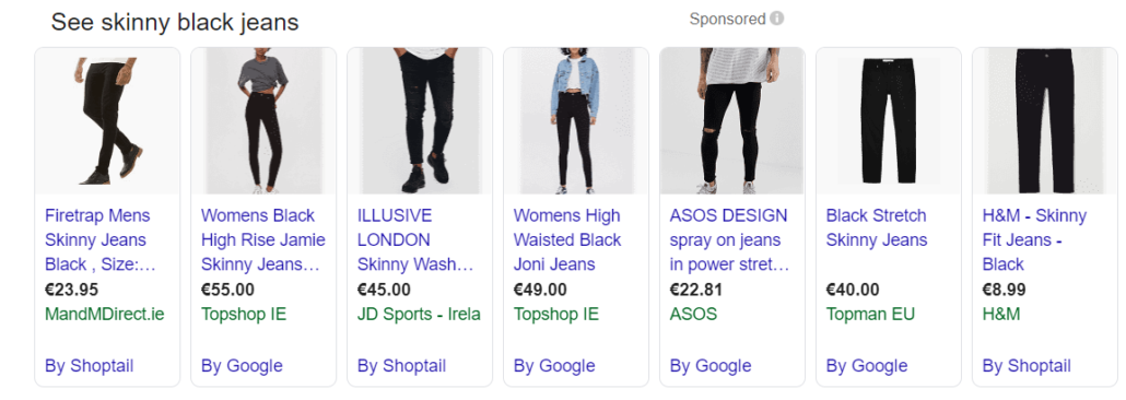 Google Shopping Product Images